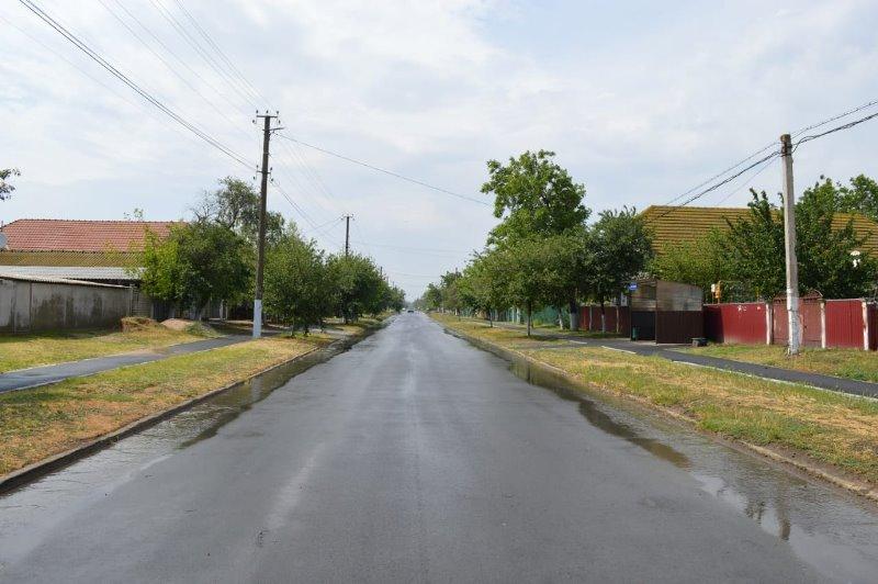 Измаильский р-н: в Богатом завершили ремонт местной дороги и продолжают капитальные работы по обустройству ФАПа