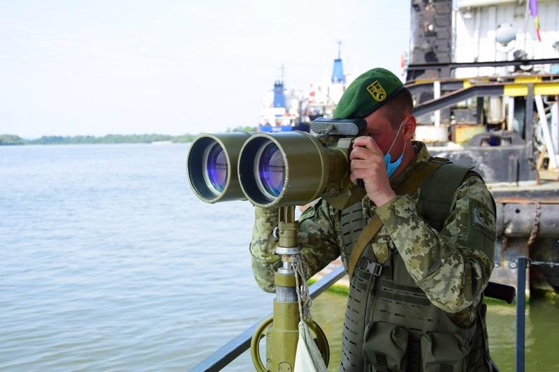 Как измаильские пограничники осуществляют охрану границы на Дунае в условиях карантина