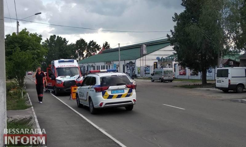 """В Измаиле в аварию попала """"скорая"""" клиники """"Odrex"""", которая транспортировала пациента с COVID-19 в Одессу"""