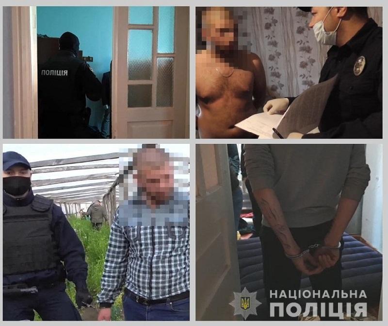 В Измаиле задержали банду дерзких автоугонщиков-грабителей: молодым людям, у которых нашли наркотики и оружие, вменяют несколько статей УК