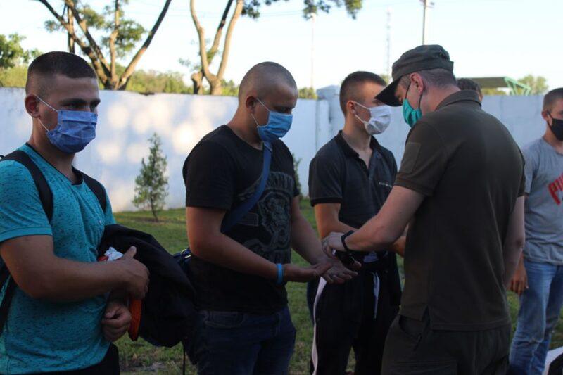 Измаил: в воинскую часть 3058 Нацгвардии Украины прибыли новобранцы из Тернопольской области