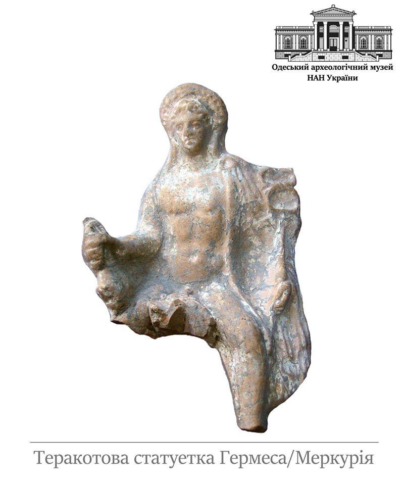 В Ренийском районе археологи обнаружили несколько интересных захоронений и уникальную статуэтку античного божества