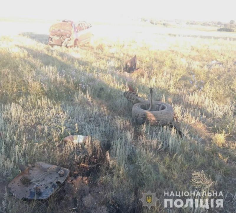В Саратском районе произошло смертельное ДТП - водитель погиб на месте