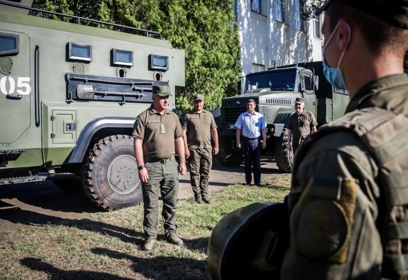 В Измаиле с рабочим визитом побывал командующий Нацгвардии Украины