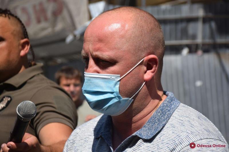 В Одессе активисты и ветераны ООС вышли на митинг с требованием расформировать Болградское отделение полиции
