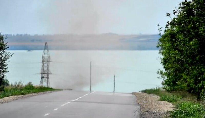 Татарбунарский р-н: вблизи озера Сасык пронеслись пылевые вихри
