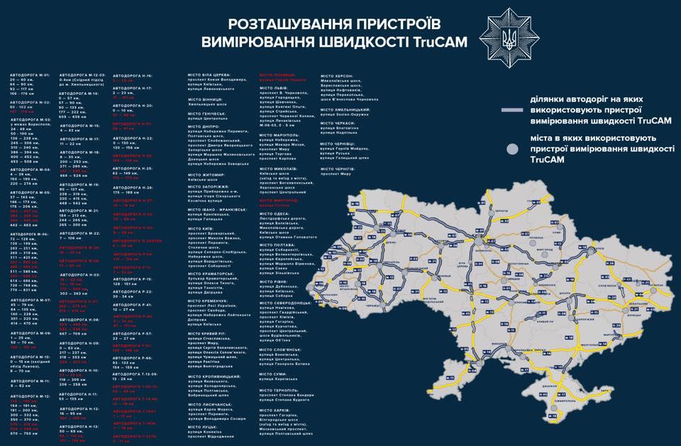 В Одесской области усилен контроль скоростного режима на дорогах, в том числе в Бессарабии