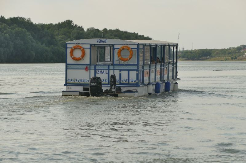 Увидеть Измаил со стороны Дуная: на городском морвокзале открылся сезон прогулочных рейсов на тримаране