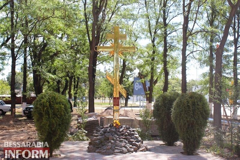 В Измаиле на Длинном бульваре благоустраивают Свято-Георгиевский сквер и проектируют новый светофорный узел