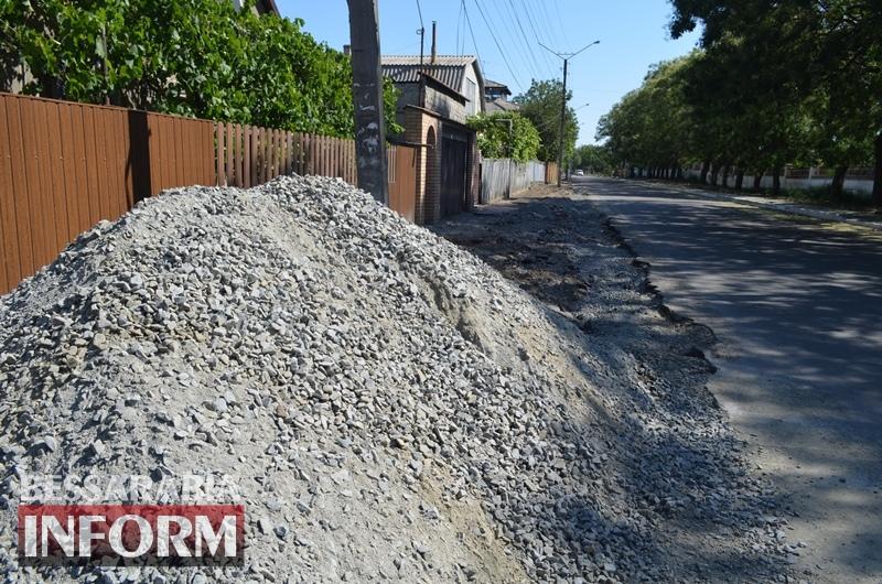 В Измаиле начался ремонт улицы Чехова