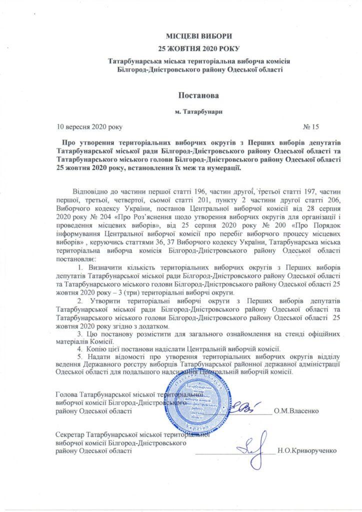После жаркой полемики в Татарбунарах определились с избирательными участками и составом депутатского корпуса