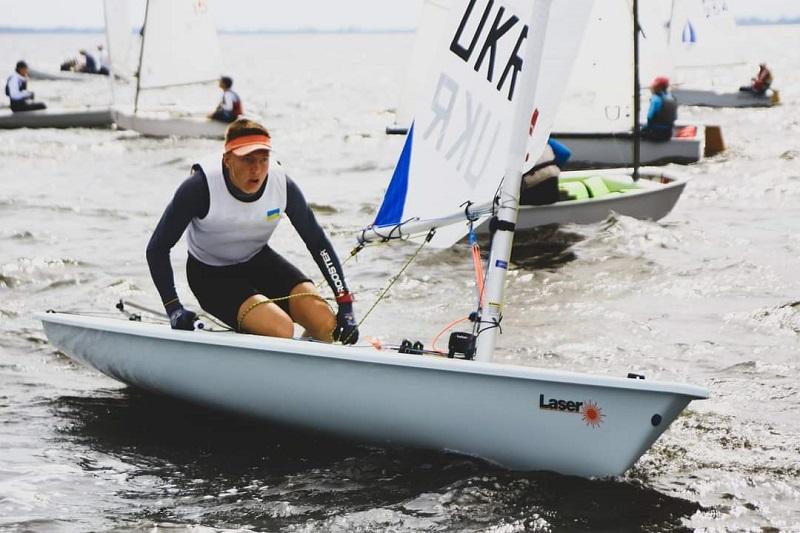 Юные яхтсмены из курортной Сергеевки стали победителями чемпионата Украины по парусному спорту