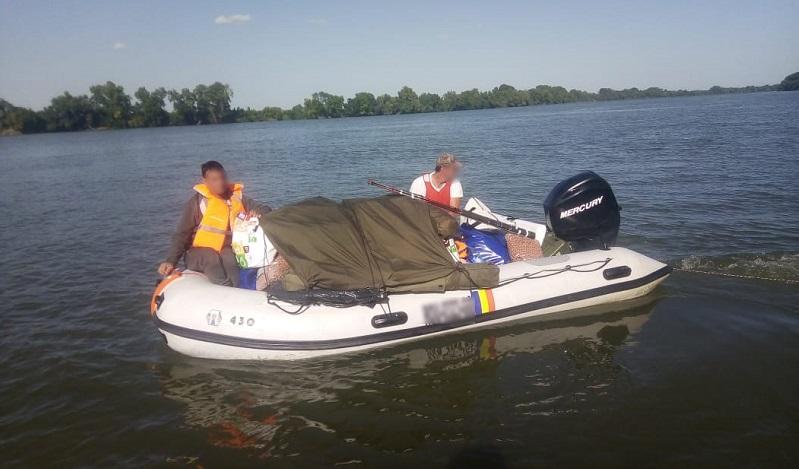 """""""Перепутали маршрут"""": измаильские пограничники задержали в Килийском устье Дуная румынских рыбаков"""