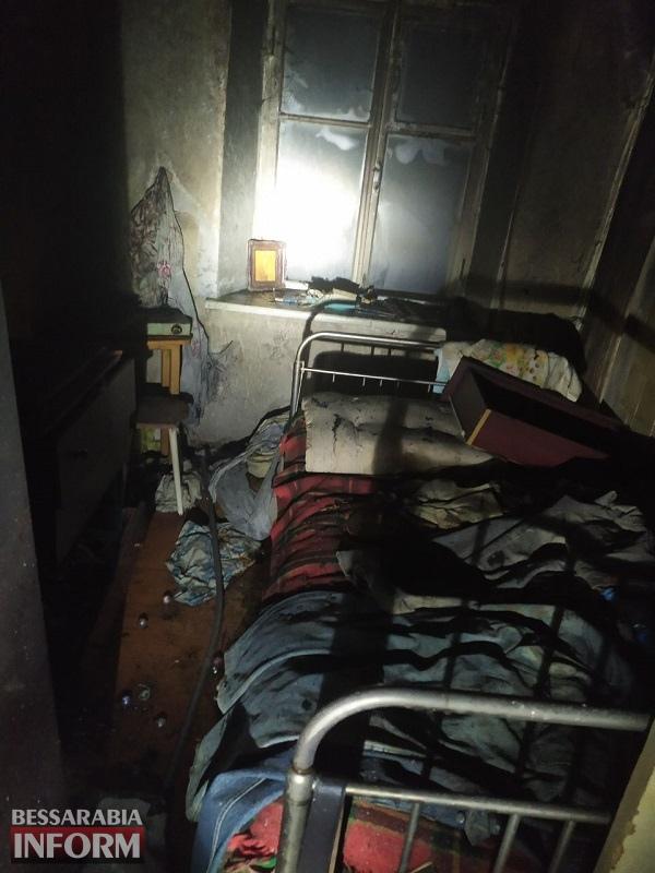 В Белгород-Днестровском районе душевнобольной мужчина поджег собственный дом