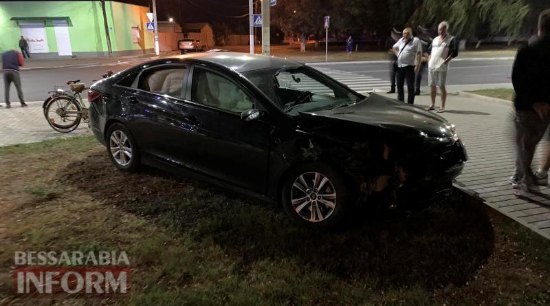 """В Измаиле пьяный водитель на Hyundai протаранил """"четверку"""" и пытался убежать с места аварии"""