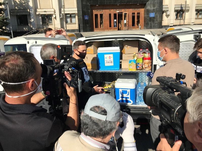 В Одесской области состоялась презентация передвижных отделений Укрпочты