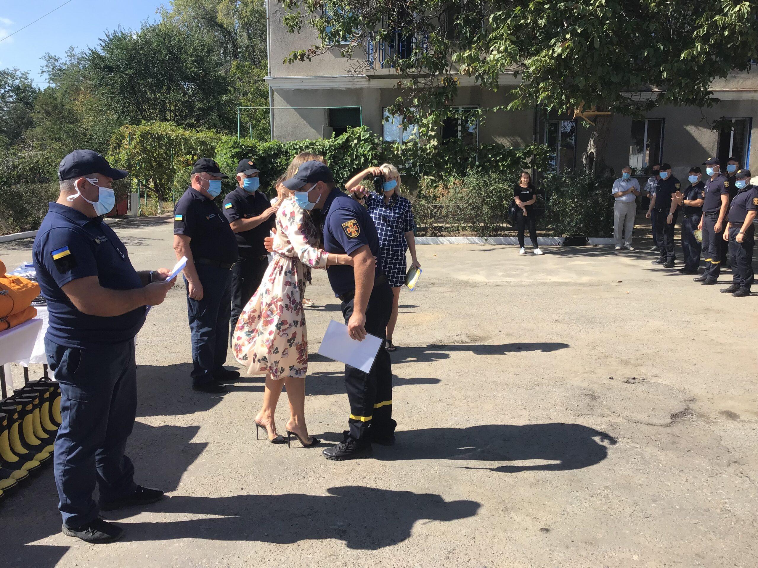 Праздник мужественных и отважных: в Белгороде-Днестровском отметили День спасателя