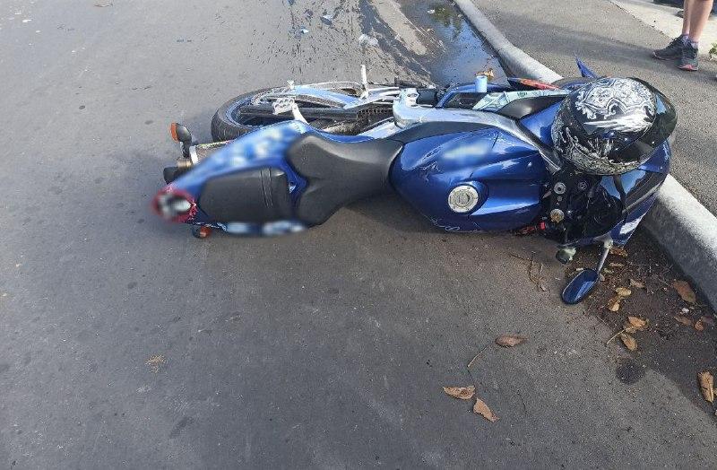 В Измаиле в ДТП на Шевченко пострадал мотоциклист