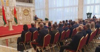 Лукашенко тайно вступил в должность президента