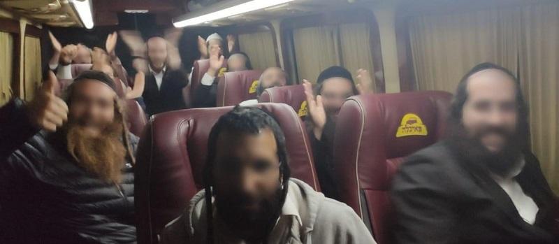 В Одесской области пограничники обнаружили автобус с паломниками-нелегалами