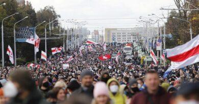 В Минске проходит «Партизанский марш»: силовики начали задержания