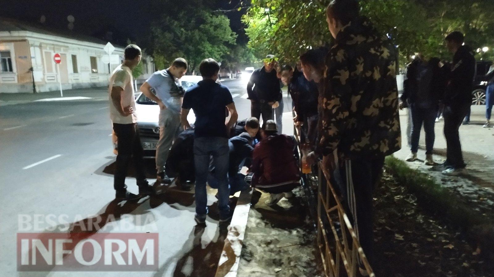 В Измаиле на проспекте Суворова сбили велосипедиста