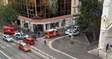 Террорист из Ниццы кричал «Аллах Акбар», убивая людей. Видео задержания