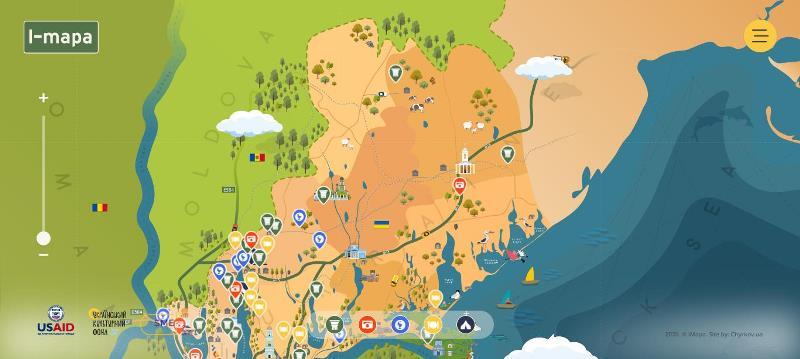 В интернете появилась «живая» карта украинской Бессарабии