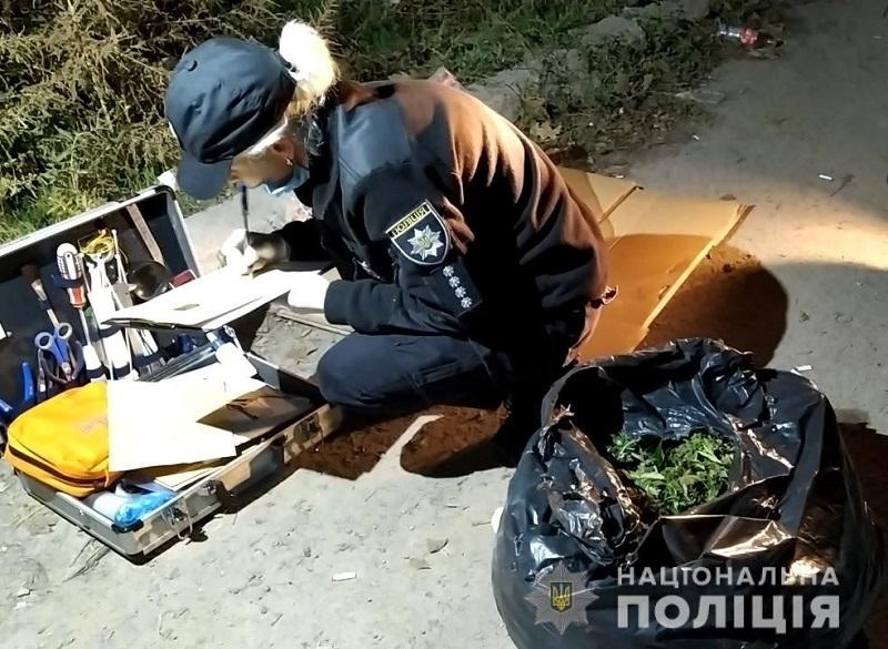 Правоохранители задержали в Одессе двух ренийцев, перевозивших в авто несколько килограммов каннабиса