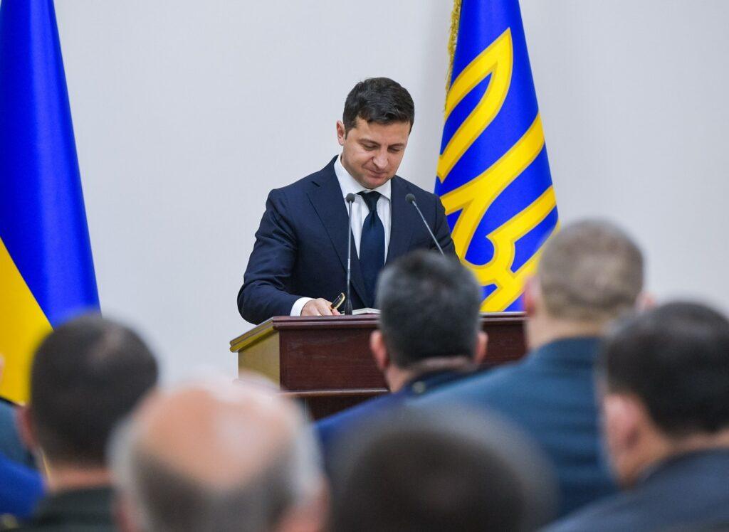 Визит Зеленского в ГПСУ: годовщина разведуправления и подписание соответствующего закона