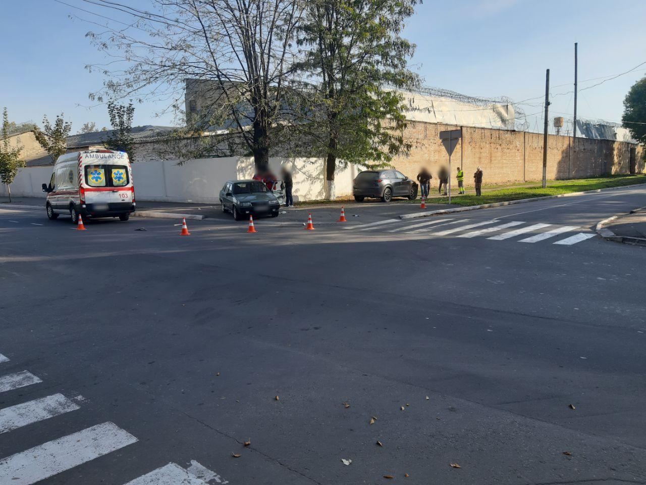 Второе ДТП в одном и том же месте за два дня: в центре Измаила произошла очередная авария с пострадавшими