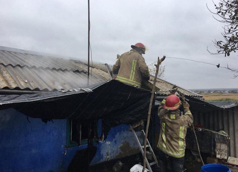 В Одесской области во время пожара погибли двое маленьких детей - одному из малышей не было и года