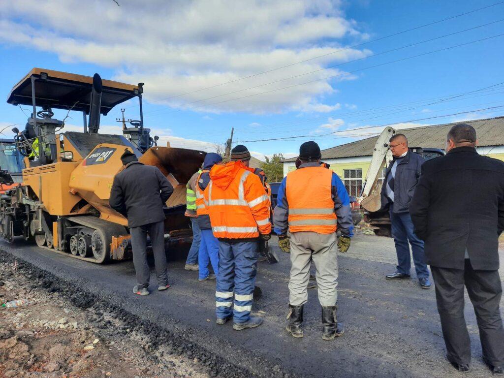 К Новому году обещают завершить ремонт дороги «Тарутино–Арциз–Татарбунары»