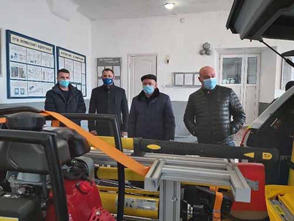 В Болграде создают большой пожарно-спасательный отряд. Авто для ГСЧС за 3 млн грн уже куплено