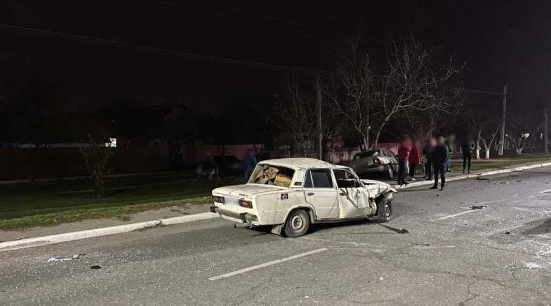 В Измаиле по вине пьяного водителя произошло серьезное ДТП на проспекте Суворова