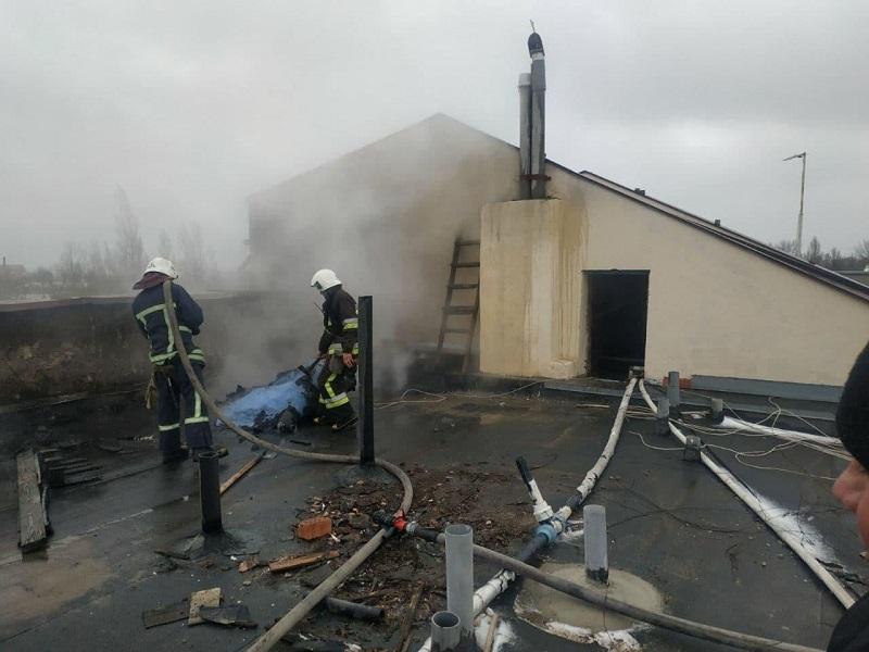 Второй пожар за день: в Затоке горела еще одна база отдыха