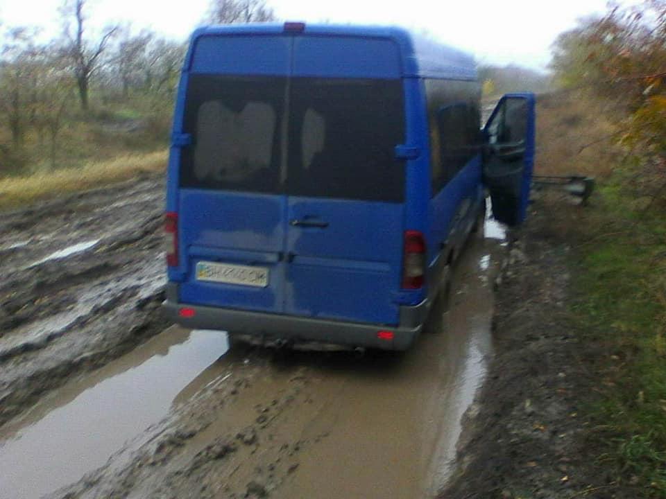 Фотофакт: по какой дороге ездит транспорт из Одессы в Дмитровку (через Сарату и Арциз)