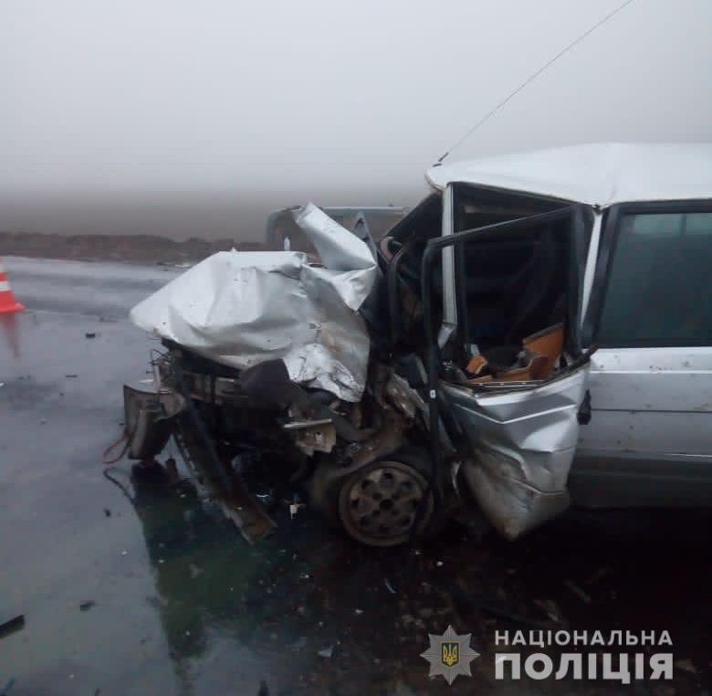 Семь человек пострадали в ДТП в Болградском районе