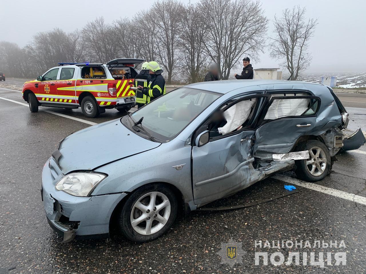 В ДТП на трассе Киев-Одесса погибли два человека