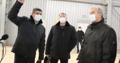 Губернатор Одесской области Сергей Гриневецкий впервые после назначения посетил Измаил (Фоторепортаж)