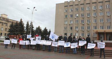 В Измаиле моряки снова протестовали против коррупции в сфере дипломирования и сертификации
