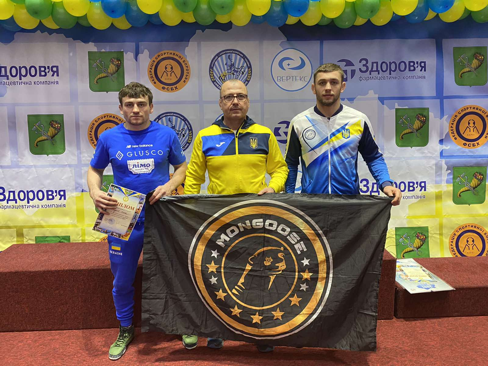 Сборная Одесской области стала чемпионом Украины по вольной борьбе