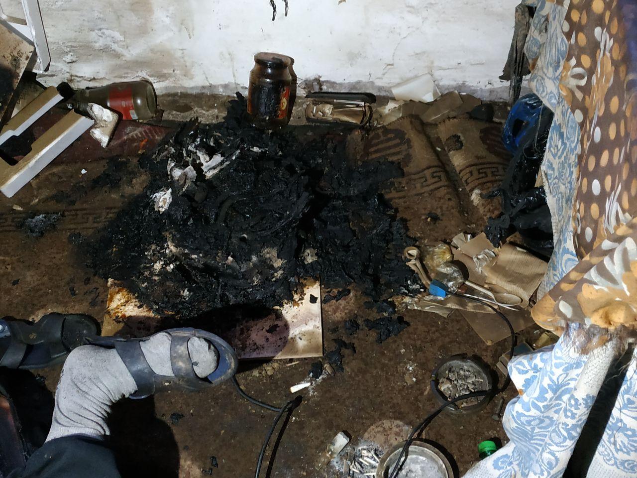 Пожар в Белгороде-Днестровском унёс жизнь пожилого мужчины