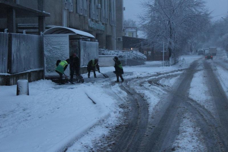 По состоянию на утро на территории Белгорода-Днестровского выпала треть месячной нормы осадков