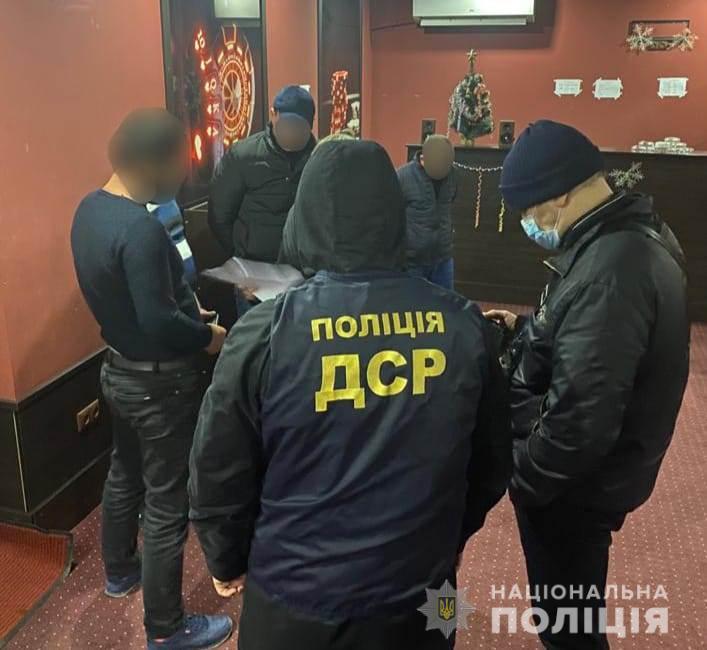 Подпольное казино в Одессе организовали трое предприимчивых жителей Измаильского района