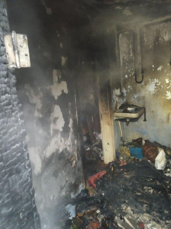 В Болграде при тушении пожара в частном доме найден труп мужчины