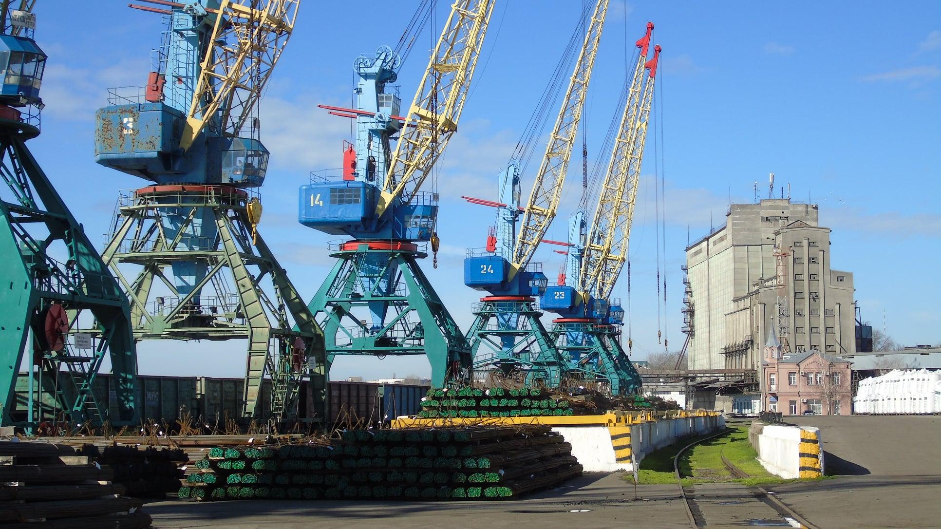 Карантин сказался: Измаильскому порту немного не хватило грузов для выполнения плана в январе