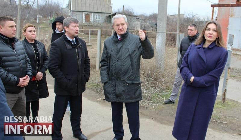 Председатель Одесской ОГА Сергей Гриневецкий посетил с рабочим визитом Белгород-Днестровский и Шабскую ОТГ