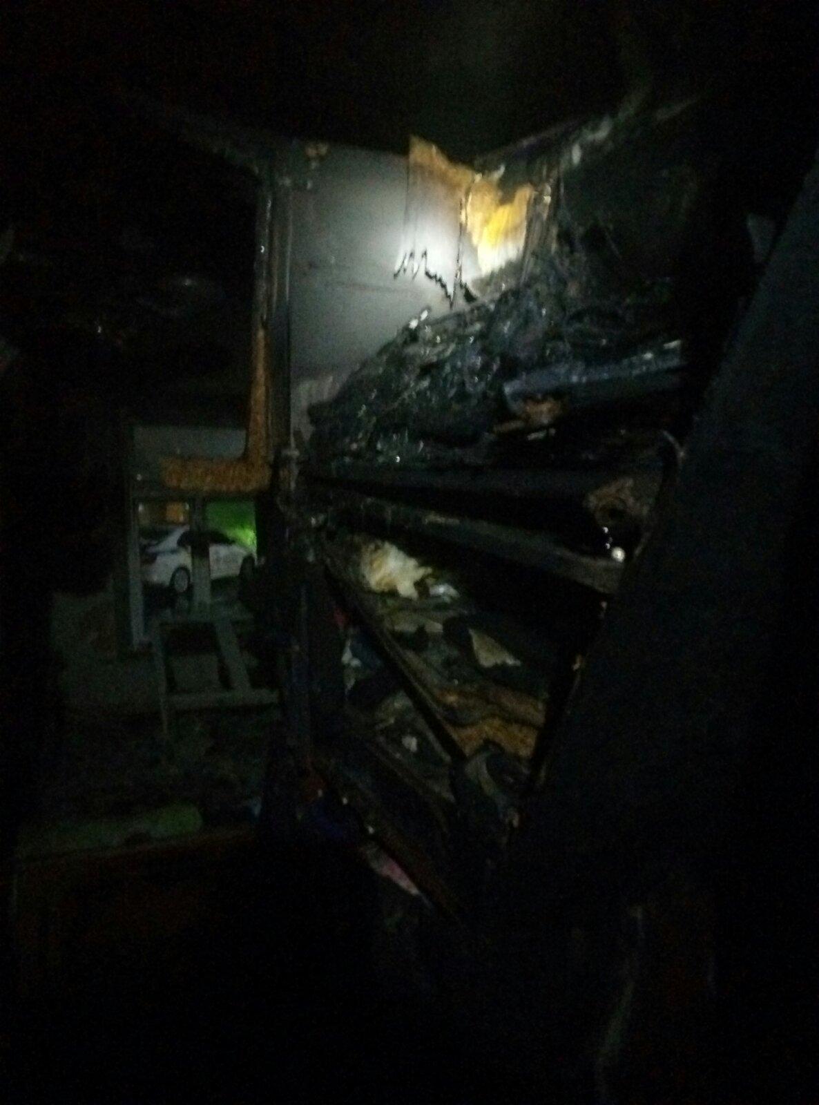 В центре Измаила произошёл пожар в жилом доме