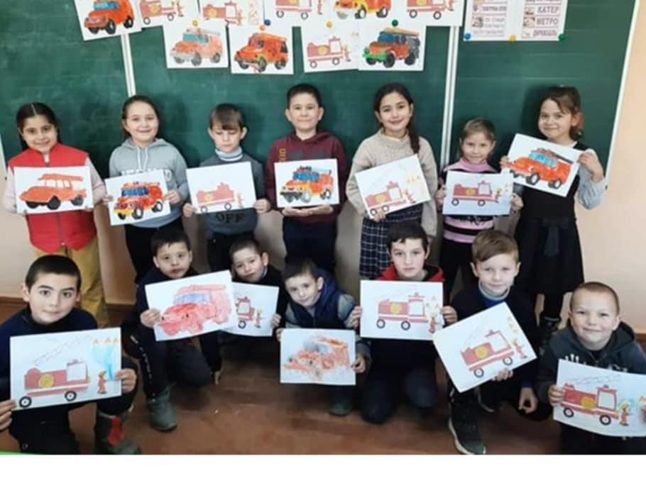 Инструктажи, эвакуации и мультфильмы: месячник пожарной безопасности в Болградской громаде